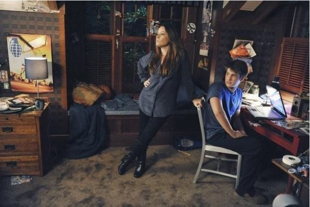 Aria\'s brother\'s bedroom