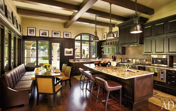 10 Celebrity Kitchens Got A Favorite Hooked On Houses