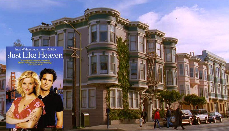 Russian Hill Apartment in Just Like Heaven Movie