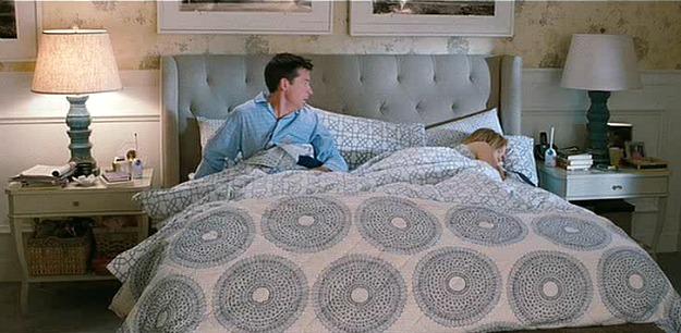 The Change-Up master bedrom bedding