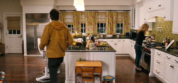 The celadon kitchen in The Change-Up movie