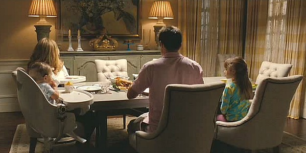 dining room in The Change-Up movie