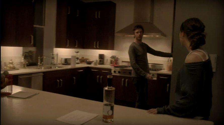 Derek in his kitchen