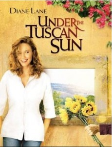 Under the Tuscan Sun Diane Lane movie poster