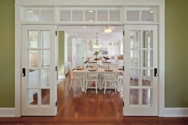 Exceptionnel Kitchen Painted Sherwin Williams Sprout French Doors   Hooked On Houses