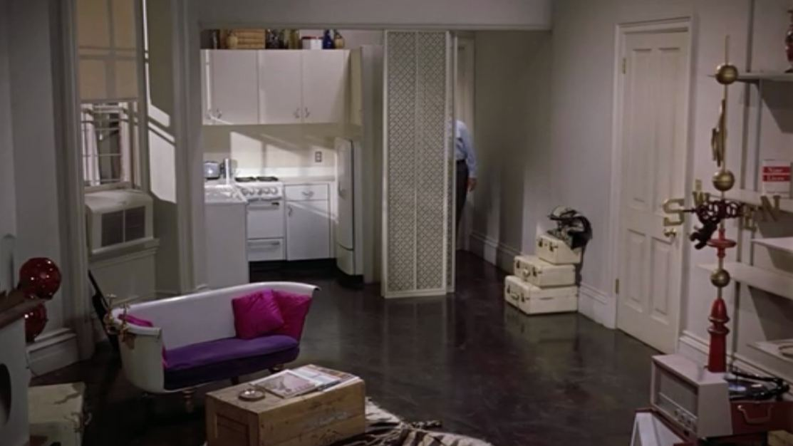 Wide shot of holly golightly 39 s apartment 2 hooked on houses for Manhattan townhouse for sale
