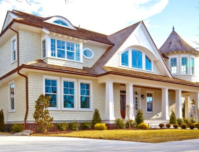 A New House with Turn-of-the-Century Style in Ocean City