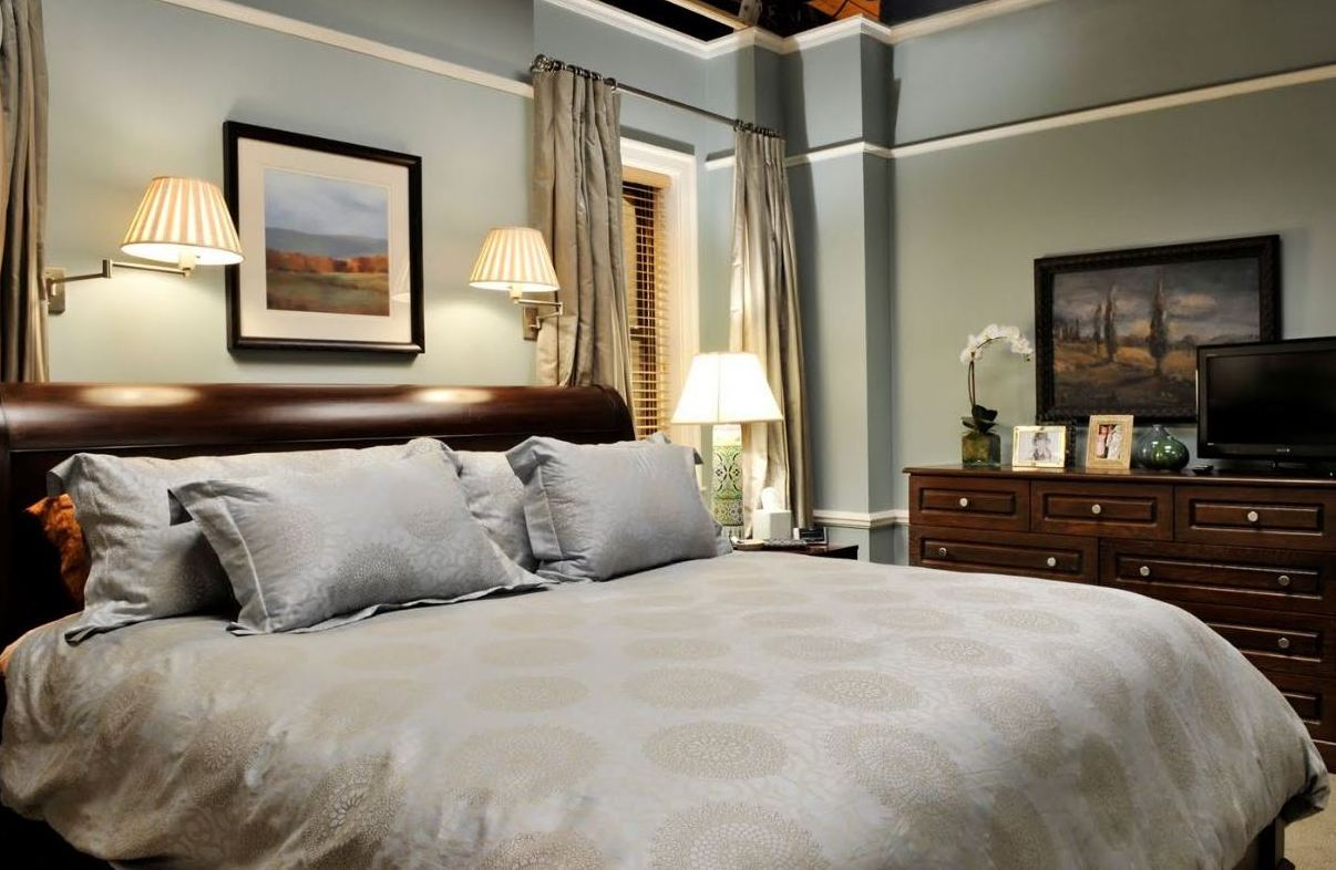 Alicia 39 S Bedroom On The Good Wife Hooked On Houses