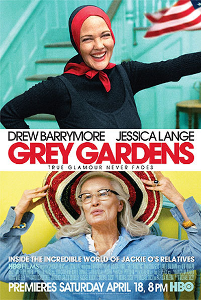 Grey Gardens movie poster HBO Drew Barrymore