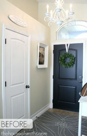 Turning A Coat Closet Into Mudroom Like Nook