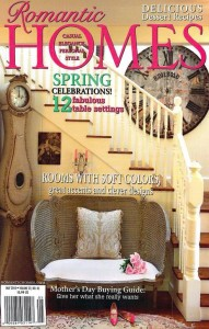 Romantic Homes magazine May 2010 Giannetti cover