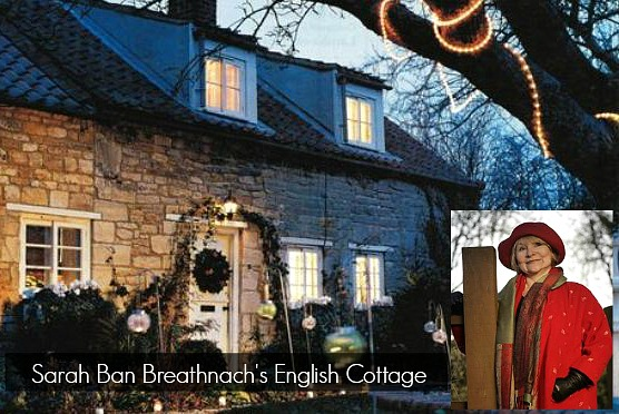 Sarah Ban Breathnach's English cottage Newton's Chapel