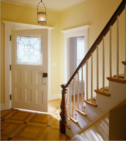 Restoring an italianate style house in cape cod hooked - Cape cod house interior ...