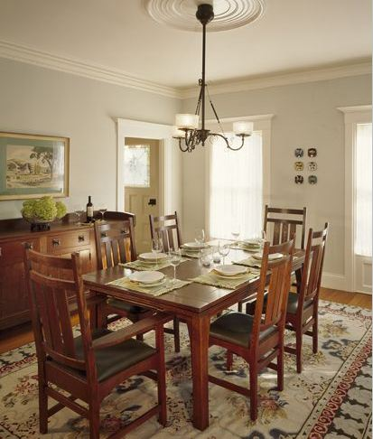 the morings remodel dining room hooked on houses