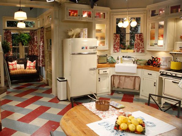 White Sitcom Kitchens