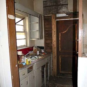 the bungalow kitchen before