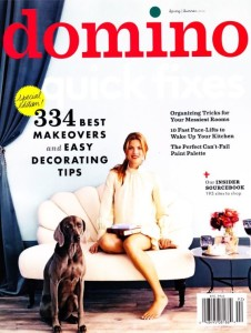 cover of Domino magazine special edition in 2012