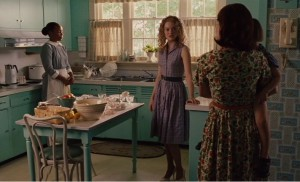 Hilly's turquoise kitchen-The Help