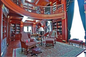 Pampered Chef founder's library