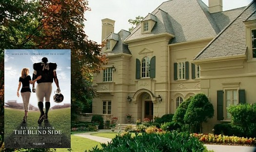The Tuohy House In The Blind Side Movie