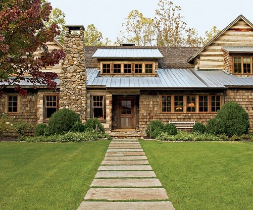 Rustic English Country Style In The Smoky Mountains