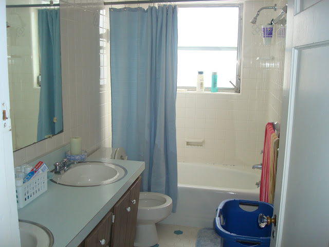 A shower that has a sink and a window