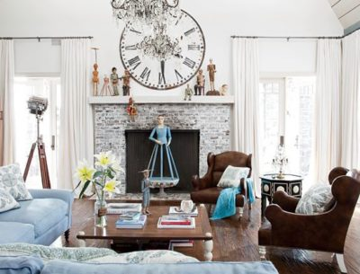 living room-Osbournes-Architectural Digest