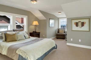 master bedroom after reno