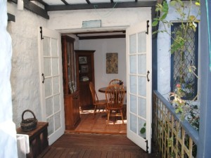 Fig Tree Cottage-French doors