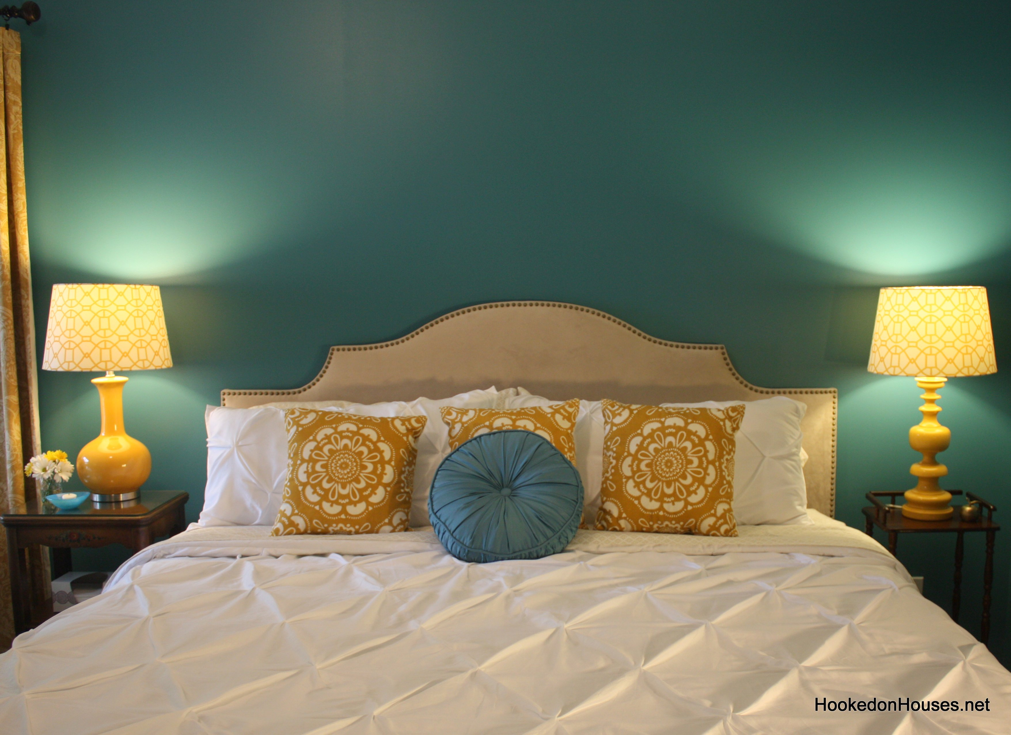 Master Bedroom after makeover Hooked on Houses