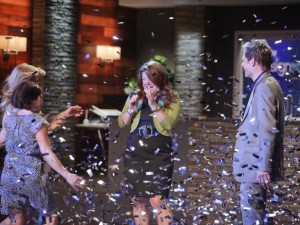 Meg wins Design Star 6-confetti