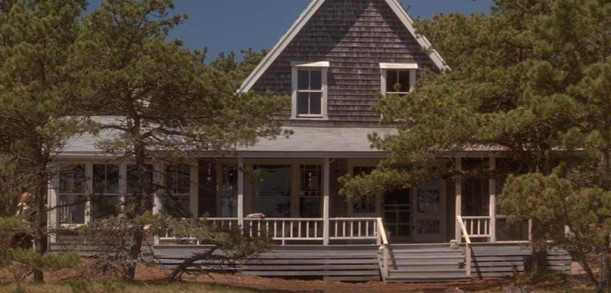 "The Outer Banks Beach House from ""Message in a Bottle\"" movie with shingle siding"