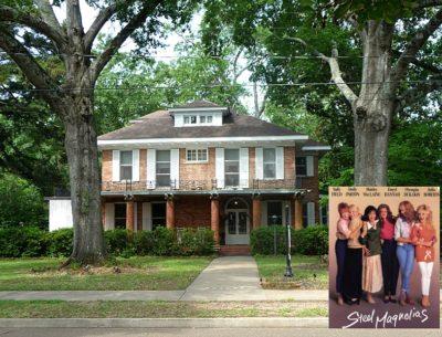 Steel Magnolias movie house in Louisiana