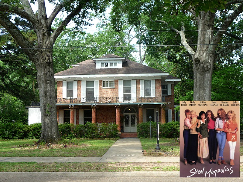 Steel Magnolias movie house in Louisiana