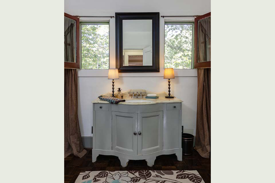 Luxury Virtu USA Dior 36 Inch Single Sink Vanity Set In Zebra Grey  16129134