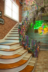 foyer during filming of Real World NOLA