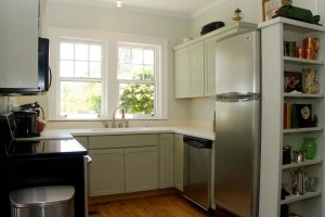 kitchen in Croatan Cottage 2