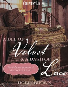 A Bit of Velvet & a Dash of Lace by Robin Brown