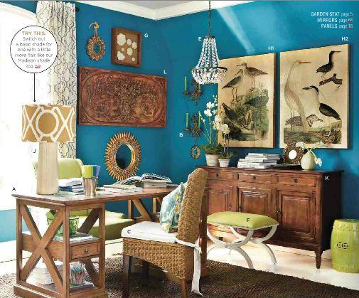 Ballard Designs March Catalog Color Inspiration Hooked