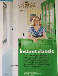 Bethany Herwegh country living green dutch door