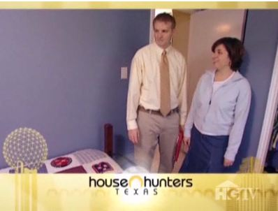 Casey and Bobi on House Hunters show