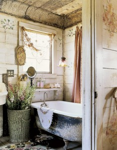 Country Living-Magnolia Pearl bathroom