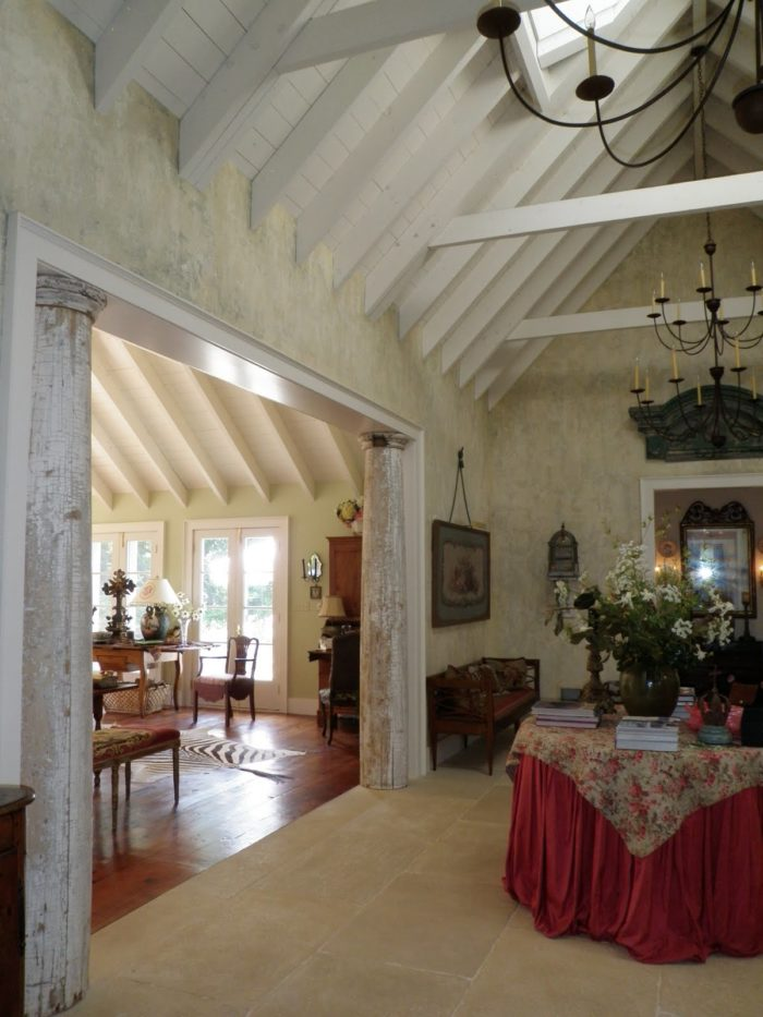 inside entry hall