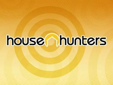 yellow bullseye logo for HGTV's House Hunters show