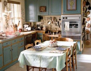 Kitchen recreated for Julie and Julia