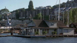 Sleepless in Seattle houseboat movie