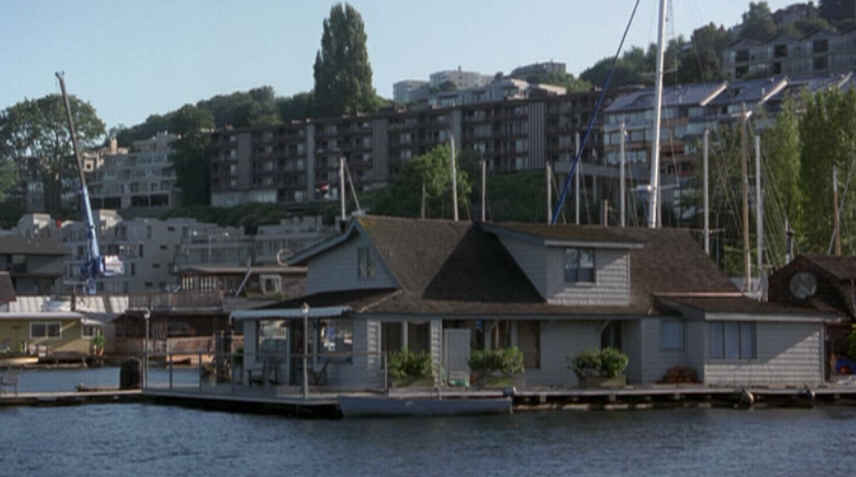 Sleepless In Seattle Houseboat Movie Hooked On Houses