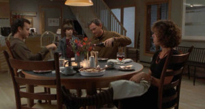 Tom Hanks' kitchen table wide 2