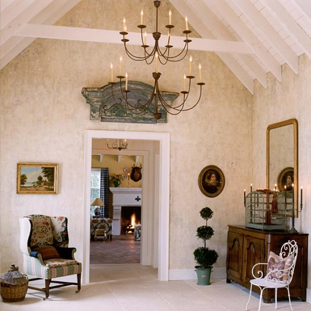 Designer suzy stout s french country farmhouse in illinois coldwell banker action realty - French farmhouse style ...