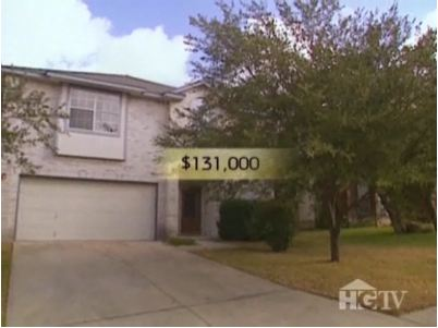 house for sale for $131,000 on House Hunters